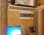 """Zasilanie, laptop do monitoringu i """"szafa"""""""